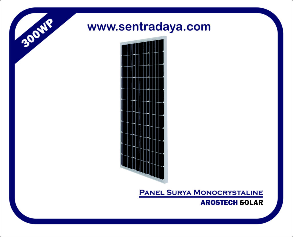 PANEL SURYA 300WP POLYCRYSTALIN