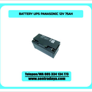 BATTERY PANASONIC 75AH