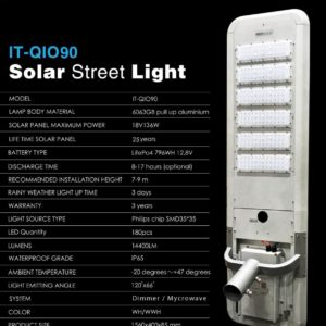 Lampu All in One lifepo4