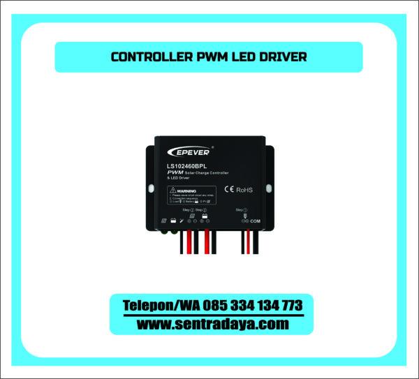 CONTROLER PWM LED DRIVER | BCR PLUS DRIVER PJU TENAGA SURYA EPSOLAR