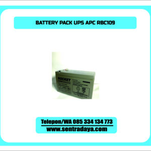 BATTERY PACK UPS APC RBC109