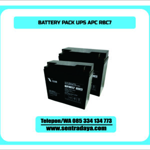 BATTERY PACK UPS APC RBC7
