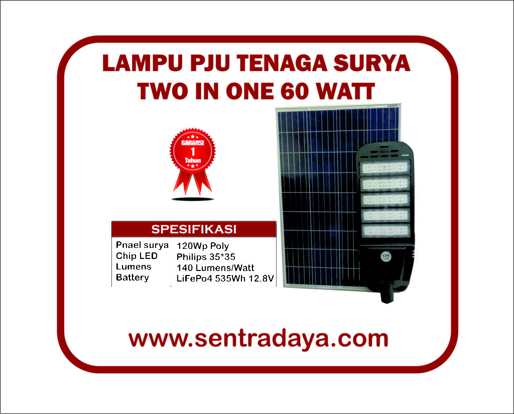 LAMPU SOLARCELL TWO IN ONE