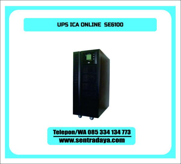 UPS ICA ONLINE SE6100 | UPS ICA 6 KVA TYPE ONLINE UNTUK RUANG SERVER