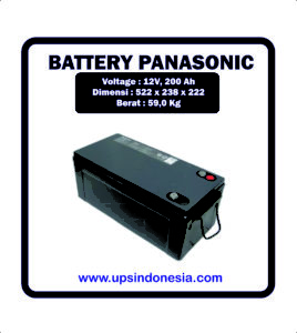 Battery VRLA Panasonic LC-P12100